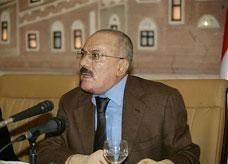 صالح يريد ضمانات دولية لتوقيع اتفاق تسليم السلطة