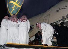 وصول جثمان ولي العهد السعودي إلي الرياض