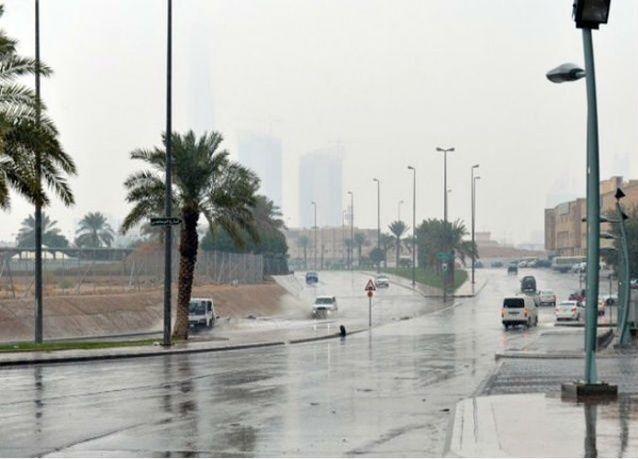 أمطار رعدية على مناطق مكة والمدينة والحدود الشمالية في السعودية