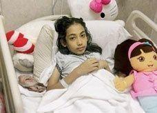 الطفلة السعودية رهام الحكمي غير مصابة بالإيدز