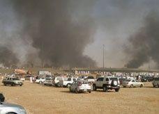"""تحذير من إصابات قد يتعرض لها 10 آلاف من المتجمهرين في """"انفجار الرياض"""""""