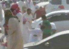 فيديو: سعودي متهور يطلق النار عشوائياً خلال تجمهر للتفحيط ويثير الهلع