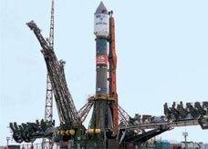 انطلاق طاقم أمريكي روسي لمحطة الفضاء الدولية
