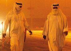 موجة غبار تضرب العاصمة السعودية وتستمر 3 ليال