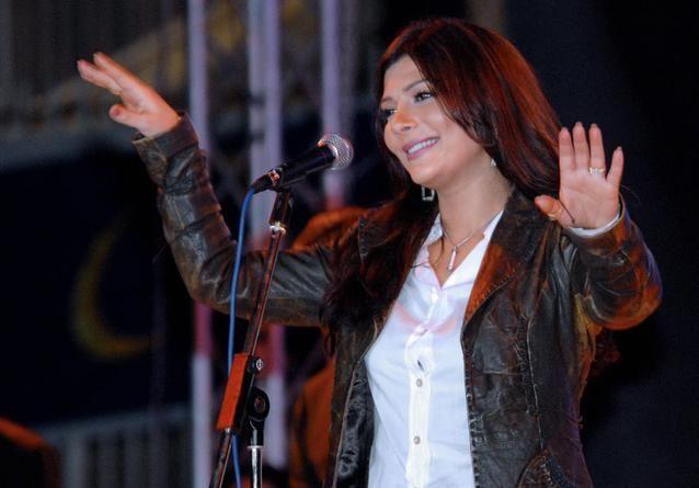 أصالة تحيي حفلتها بسلام في عدن