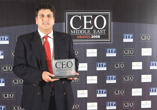 """مجلة """" CEO الشرق الأوسط"""" تقيم حفل جوائزها للعام 2008"""