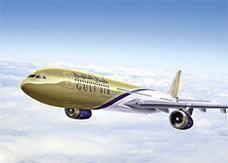 """استئناف رحلات """"طيران الخليج"""" من البحرين الى إيران والعراق"""
