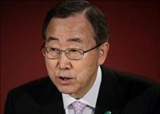 بان كي مون يحذر من أزمة سياسية عالمية جراء الأزمة المالية