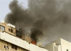 حريق كبير في سوق شعبي بالبحرين