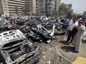 """إطلاق صاروخين على """"المنطقة الخضراء"""" الحصينة في بغداد"""