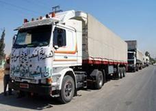 قافلة مساعدات غذائية تزن 140 طن متجهة من سورية لقطاع غزة