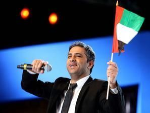 فضل شاكر يتألق في حفل أبو ظبي