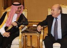 السعودية تدعم قطر لاستضافة كأس العالم 2022