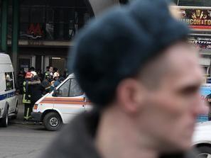 صور إنفجاران في محطة مترو في موسكو