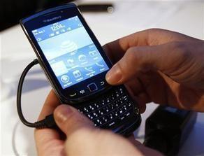 الكشف عن طراز جديد من بلاكبيري لمنافسة أي فون