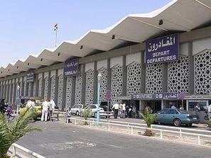 انهيار في صالة القدوم بمطار دمشق الدولي بعد أقل من عام على تجديدها