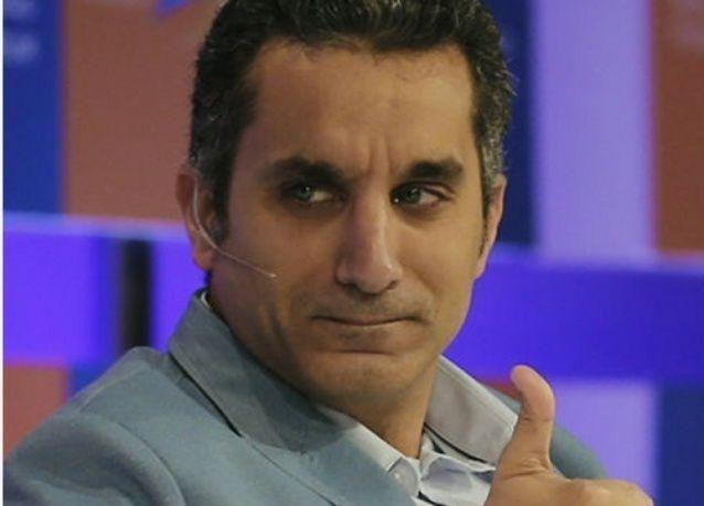 باسم يوسف يظهر مجدداً وينتقد الإحتفاء بالسيسي