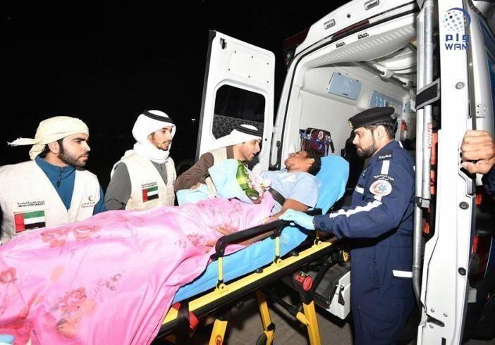 الهلال الأحمر الإماراتي يتكفل بعلاج 1500 جريح يمني بمستشفيات الدولة