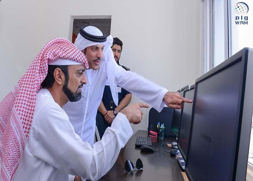 عمار النعيمي يطلع على مخططات إنشاء ميناء عجمان الجديد بتكلفة تقارب 2 مليار درهم