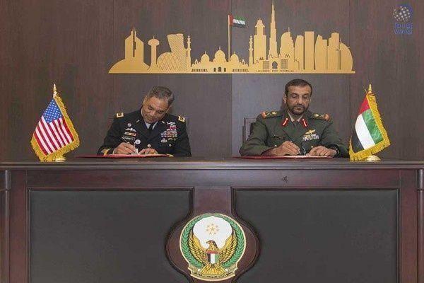 الإمارات توقع اتفاقية تعاون مع القيادة المركزية للجيش الأمريكي