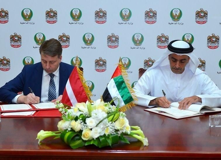 تفاهم بين الإمارات ولاتفيا بشأن الاعتراف المتبادل برخص القيادة