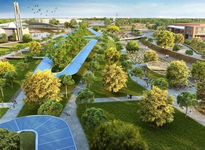 بحوالي 1.5 مليون متر مربع، إطلاق مشروع أكبر حديقة عامة في دبي