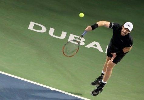 """موراي يفوز في """"تنس دبي"""" بلقبه الأول لعام 2017"""