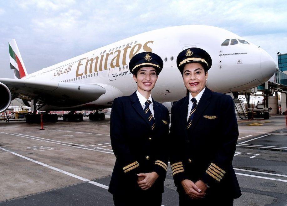 احتفالا بيوم المرأة العالمي: 44% من موظفي طيران الإمارات نساء