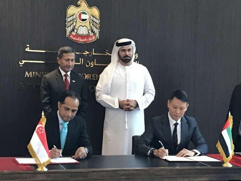 """""""سوق أبوظبي"""" يتعاون مع هيئة النقد السنغافورية لتطوير التكنولوجيا المالية"""