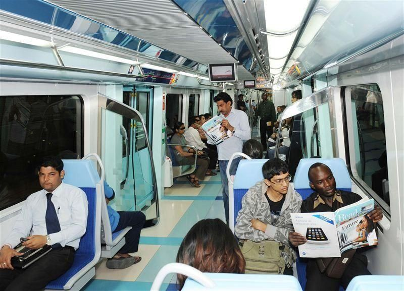 "تمديد ساعات عمل ""مترو دبي"" لاستيعاب زوار ""جيتكس شوبر"""