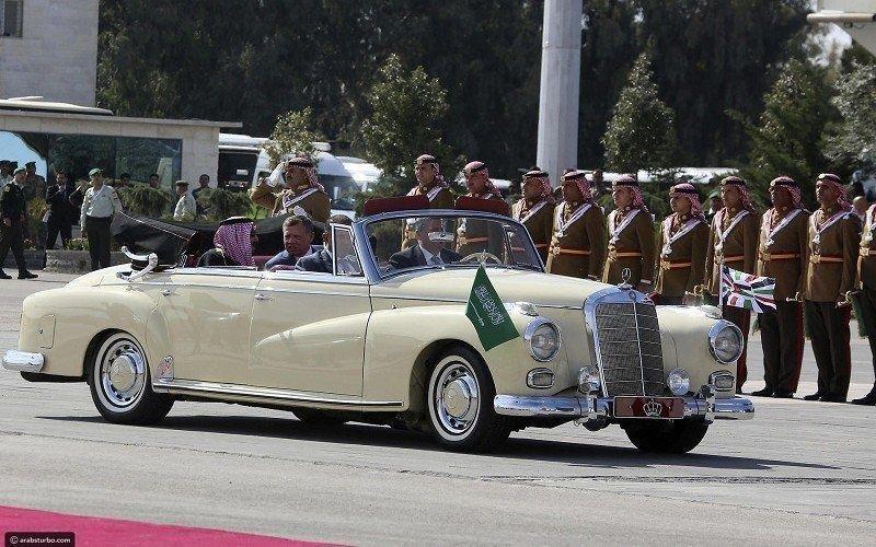 ما قصة السيارة التي استقلها الملك سلمان في الأردن؟
