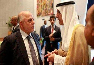 وزير الخارجية السعودي عادل الجبير في أول زيارة للعراق