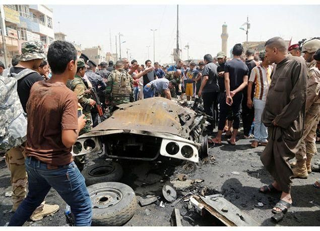 بالصور : 15 قتيلاً في انفجار سيارة ملغومة بمدينة الصدر العراقية