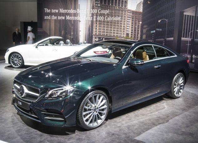 بالصور : الكشف عن أحدث السيارات الفاخرة من مرسيدس في معرض جنيف الدولي 2017