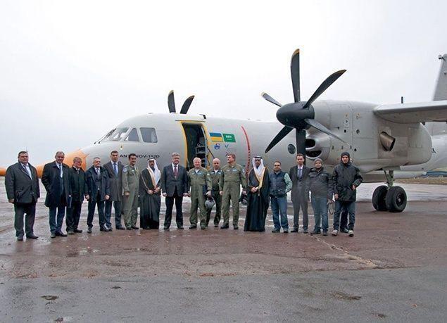 """بالصور : نجاح تجربة أول إقلاع للطائرة السعودية الأوكرانية """"أنتونوف AN-132"""""""