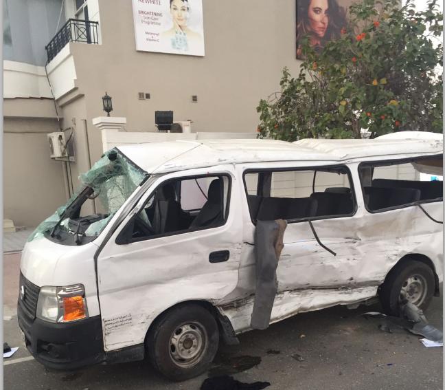 فتاة تتسبب في وفاة شخص وإصابة 10 آخرين في دبي
