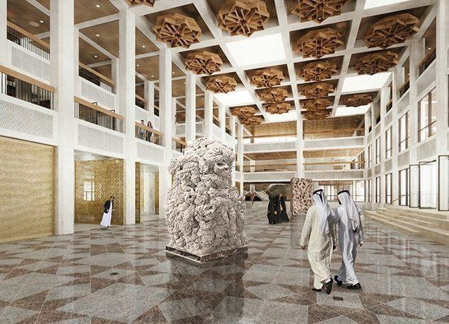 """بالصور : افتتاح """"معرض قصر الحصن"""" في أبوظبي بشكل دائم أمام الزوار"""