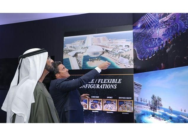 بالصور : إطلاق مشروع جزيرة متكاملة للخدمات السياحية والترفيهية على شاطئ جميرا