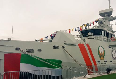 اختيار 'تاليس' لتطوير قدرات القوات البحرية الإماراتية