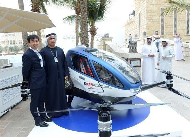 طائرات ذاتية القيادة قريباً في دبي
