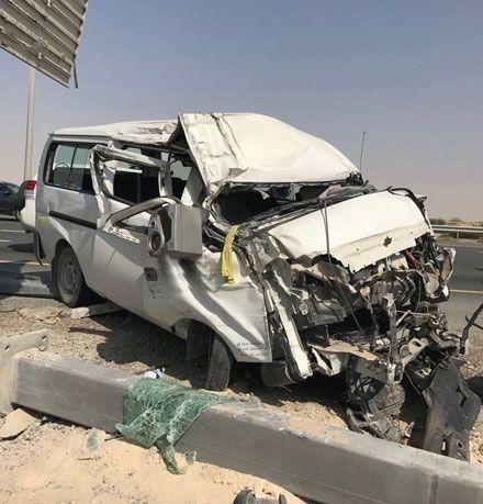وفاة شخص وعرقوب يتسبب بحادث وإصابة 10 آخرين في حوادث متفرقة وقعت في دبي
