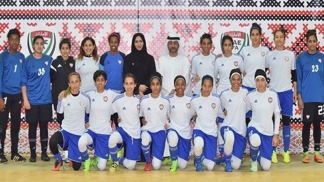 الظهور القاري الأول لمنتخب سيدات الإمارات الوطني لكرة القدم