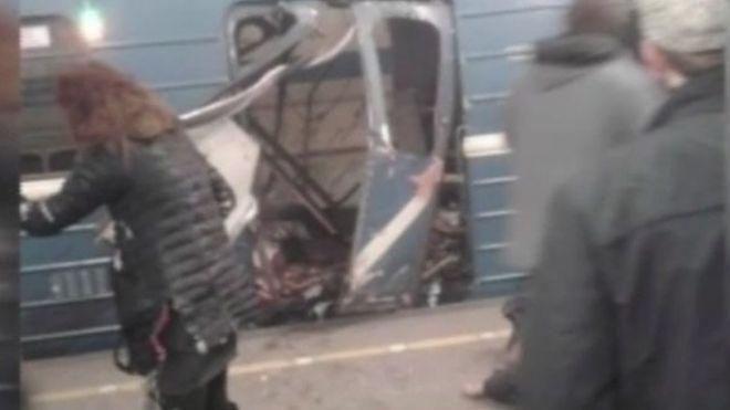 عاجل: عشرة قتلى و20 جريحا في انفجار في مترو سان بطرسبورغ