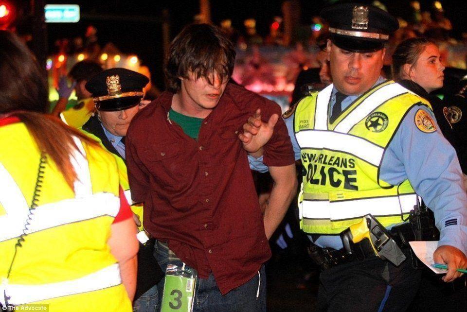 اعتقال شاب اصاب بشاحنته 28 شخصا في  نيو أورليانز