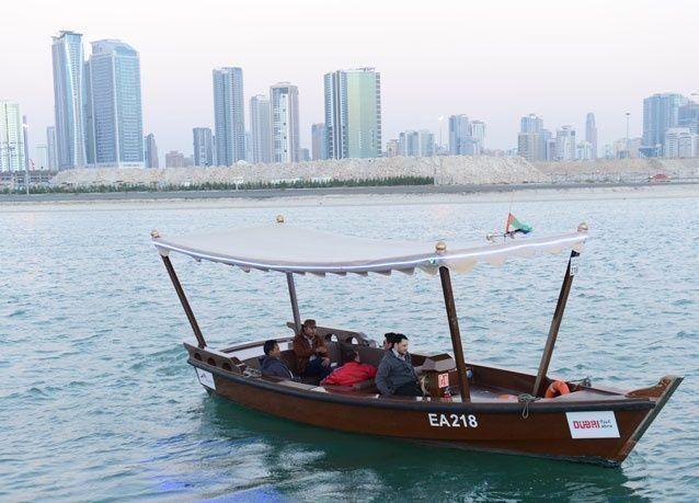 """""""طرق دبي"""" تـُشغـّل العبرة التراثية بمنطقة مشروع """"كريك هاربير"""""""