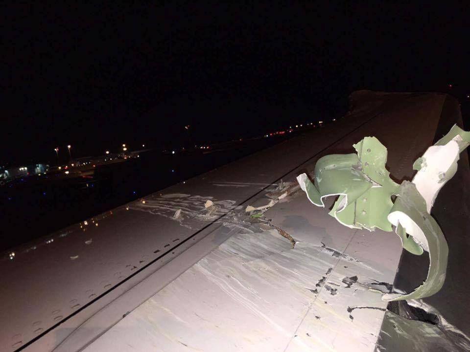 اصطدام خفيف لطائرة إماراتية بأخرى في سنغافورة