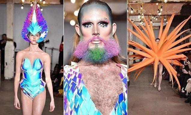 بالصور: جنون الموضة في أسبوع أزياء لندن