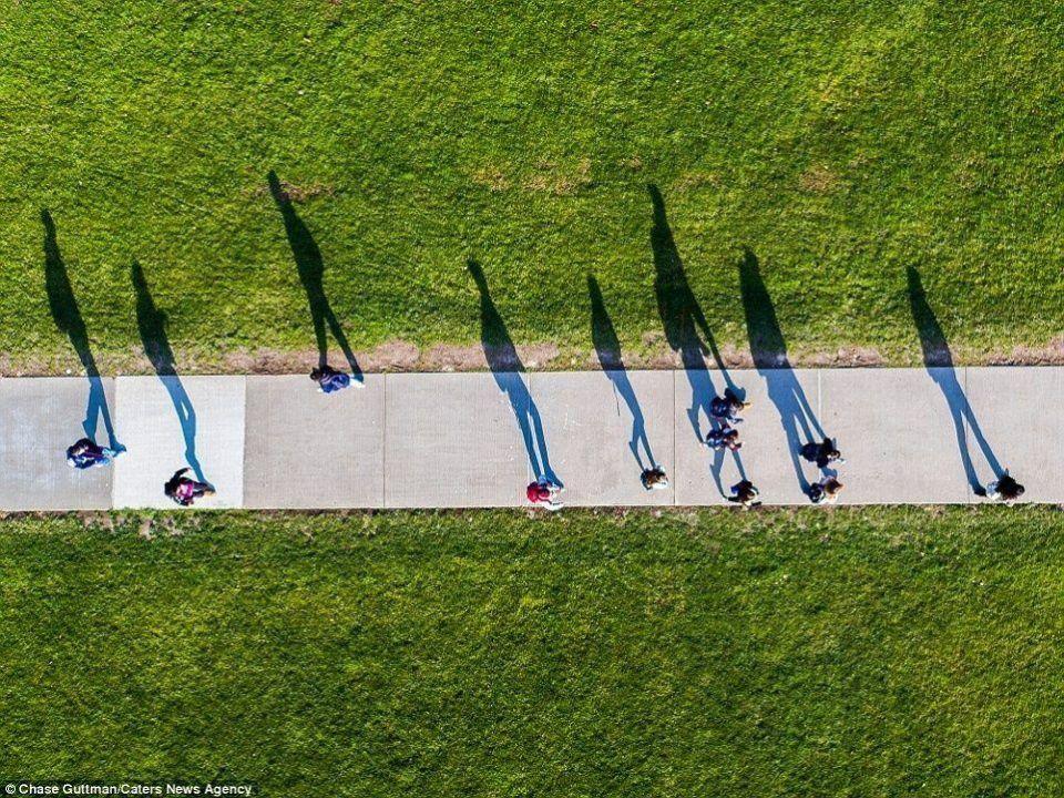 بالصور: أروع اللقطات للولايات المتحدة الأمريكية من طائرة مسيرة عن بعد