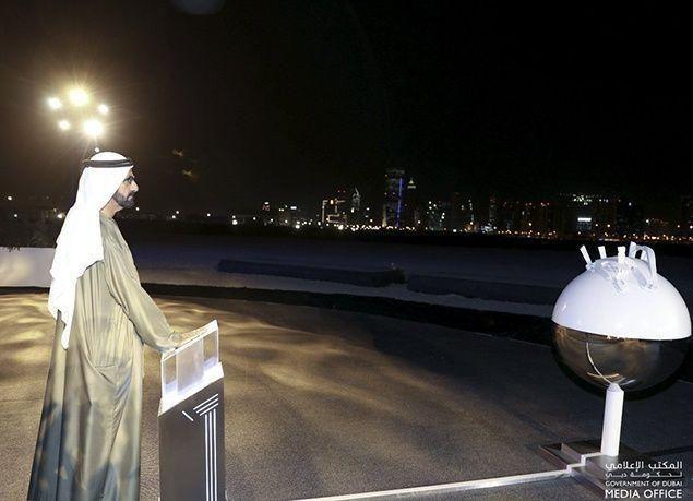 """بالصور : مشروع """"ميدان ون مول"""" في دبي"""
