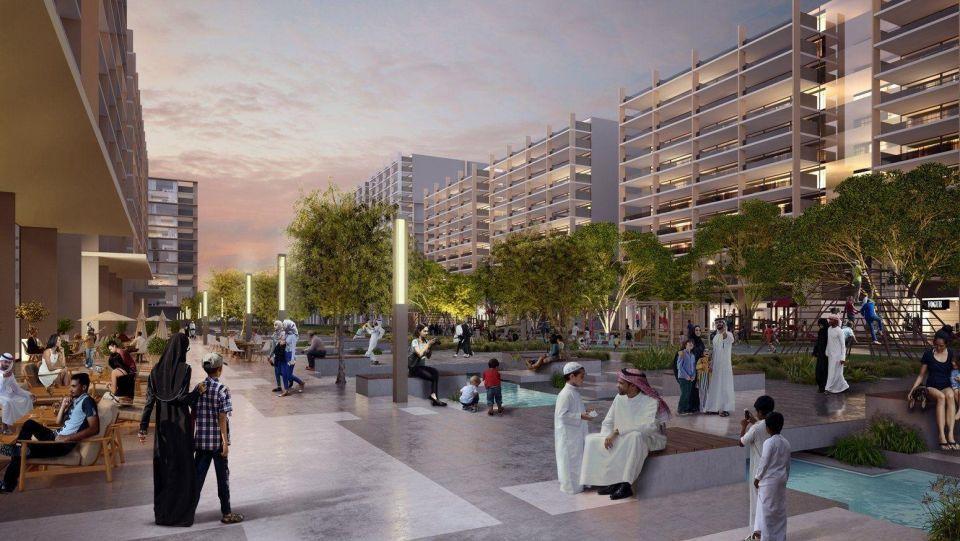 شاهد مشروع أكبر حديقة عامة في إمارة دبي